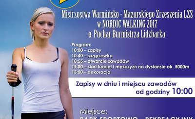 Zapraszamy do Lidzbarka na mistrzostwa w nordic walking