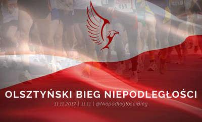 Biegiem po Olsztynie 11 listopada