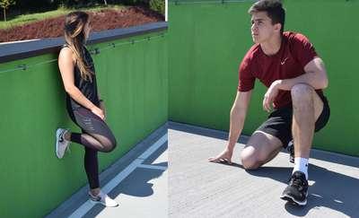 Sportowy look w stylu fit
