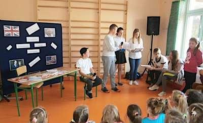 Europejski Dzień Języków Obcych w szkole w Zwiniarzu