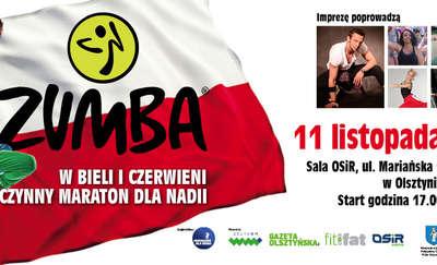Maraton zumby w Olsztynie! Przyjdź, potańcz, pomóż