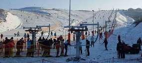 Na Warmii i Mazurach jak w górach — też można poszaleć na nartach!