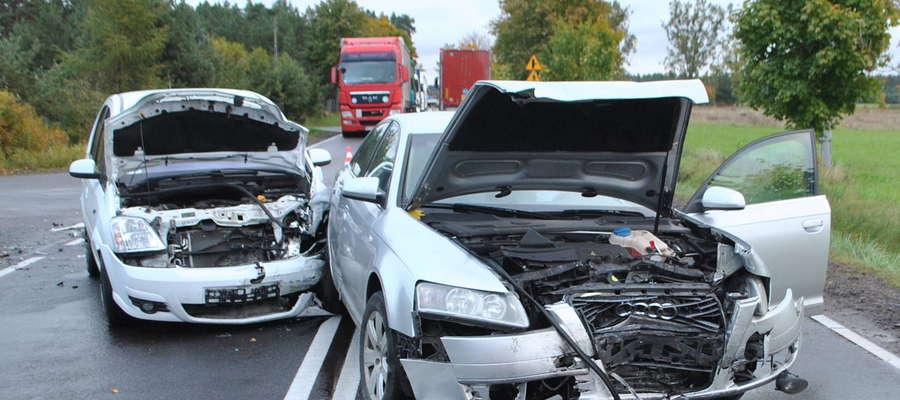 Do wypadku doszło na trasie Pisz-Orzysz