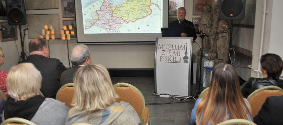 Gościem muzeum był ks. dr Krzysztof Bielawny