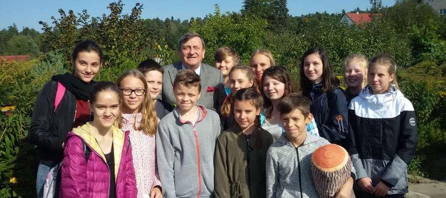 Najwięcej emocji wzbudziło spotkanie z gen. Mirosławem Hermaszewskim.
