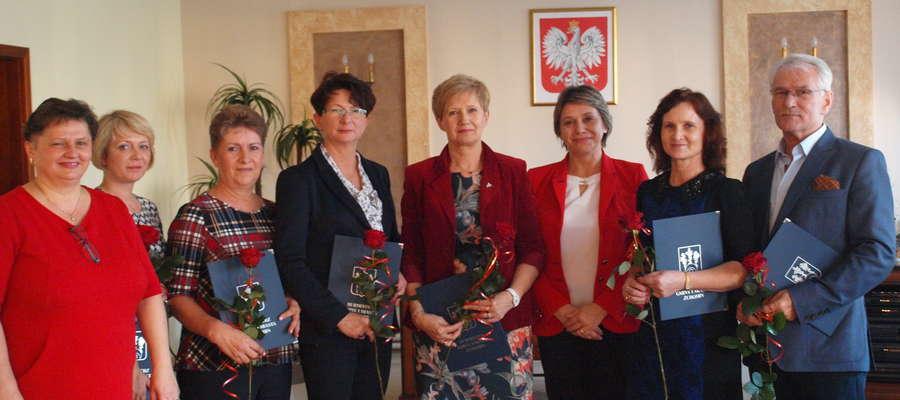 W gminie Żuromin nagrody otrzymało 6 nauczycieli