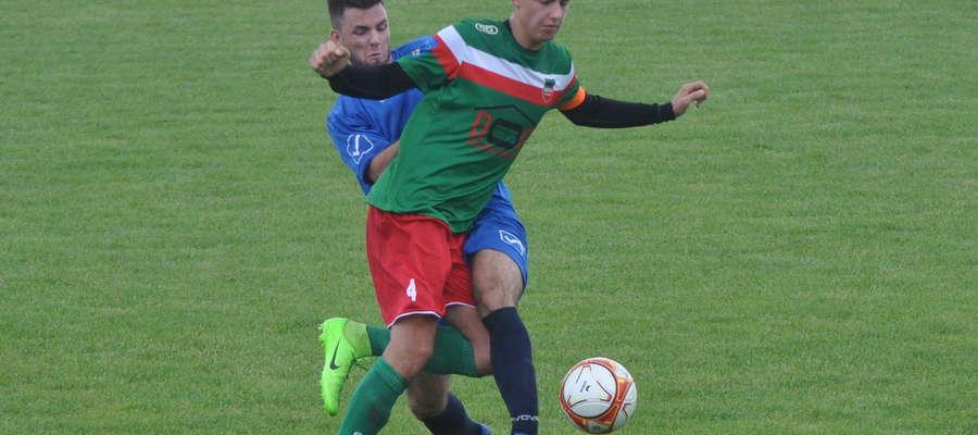 Jakub Kaźmierski zdobył jedną z bramek fot. mo