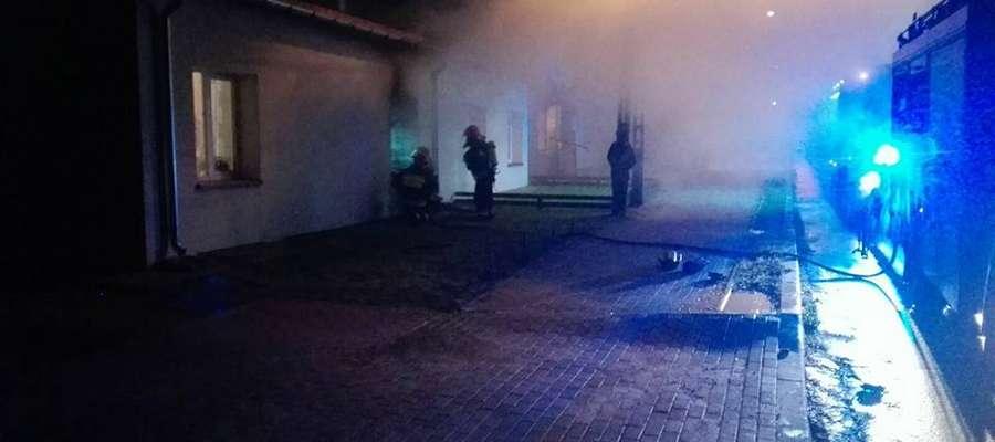 Do pożaru doszło przy ul. Wojska Polskiego