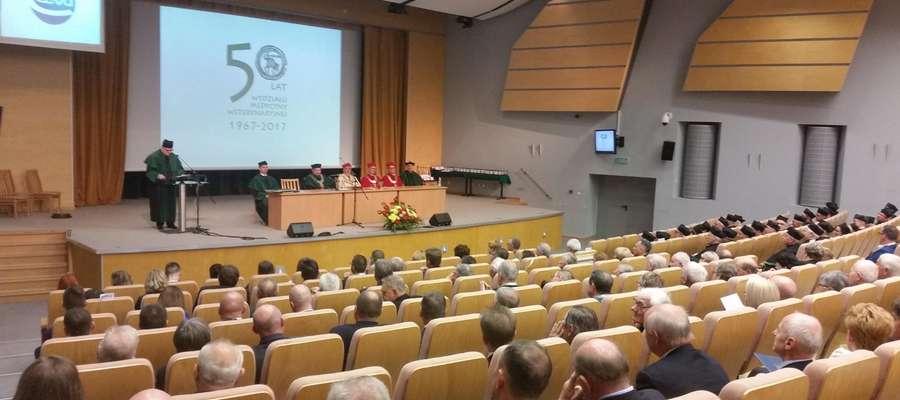 50-lecie Wydziału Medycyny Weterynaryjnej w Olsztynie