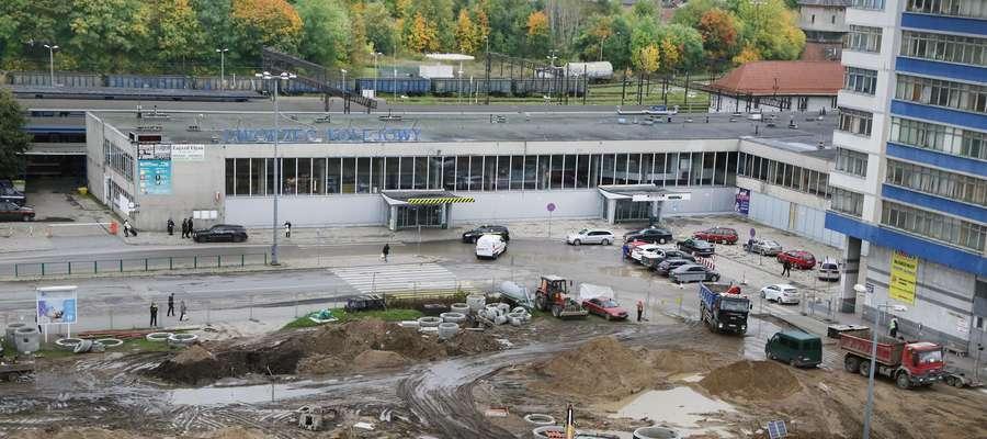 Dworzec PKP w Olsztynie