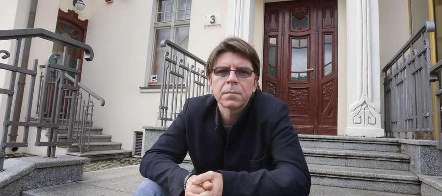 Mariusz Sieniewicz, dyrektor MOK w Olsztynie