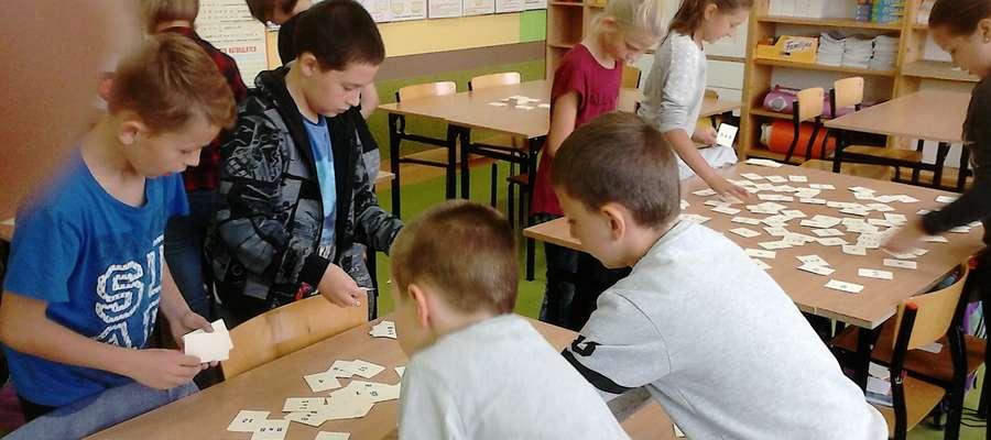 Matematyczne działania uczniów SP 2
