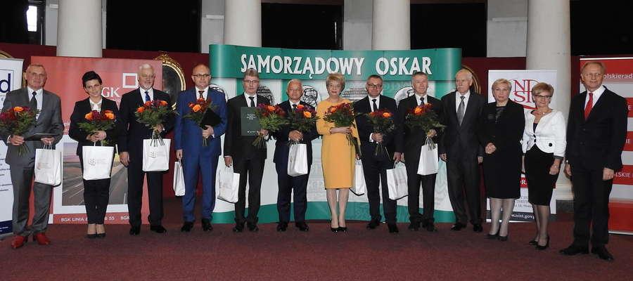 Laureaci Samorządowych Oskarów