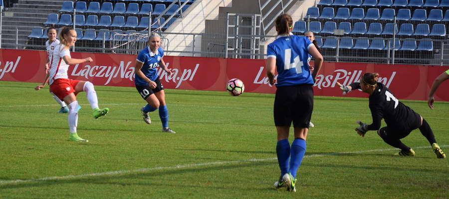 W pierwszym meczu w Ostródzie Polki wysoko pokonały reprezentację Estonii