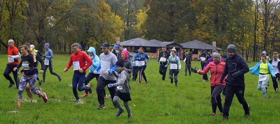 W charytatywnym biegu wystartowało ponad 150 osób