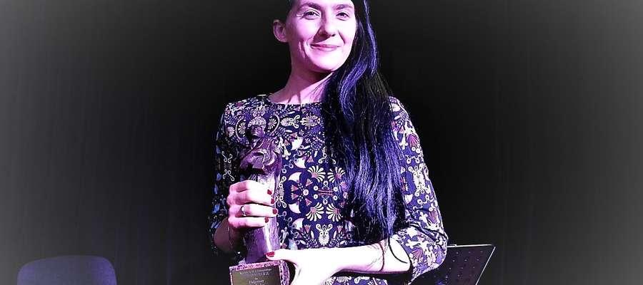 Małgorzata Lebda, laureatka Orfeusza za najlepszy tom poetycki 2016 roku