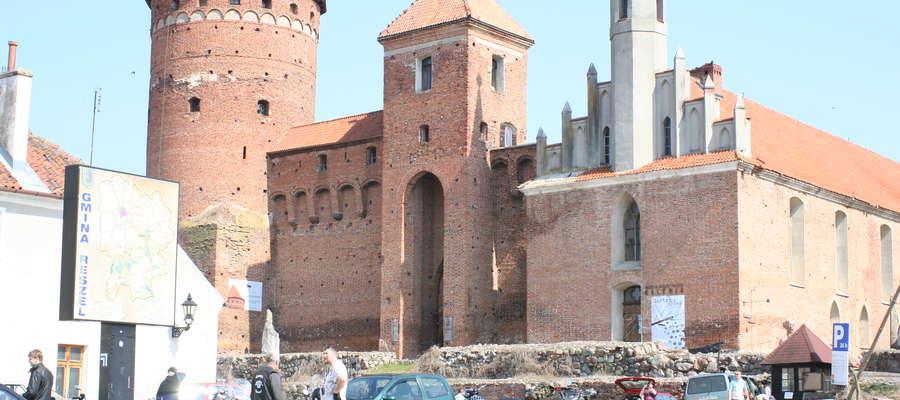 Reszelski zamek wraz z galerią są wizytówką miasta.