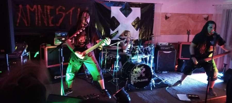 Na węgorzewskim koncercie Explozera bawiła się również grupa fanów z Kętrzyna