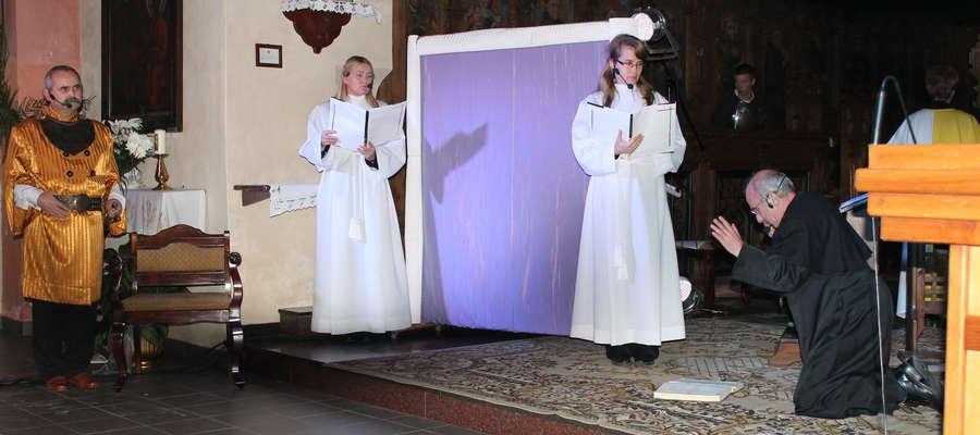 Kilka lat temu występ teatru rapsodycznego również uświetnił Dni Kultury Chrześcijańskiej w Lubawie
