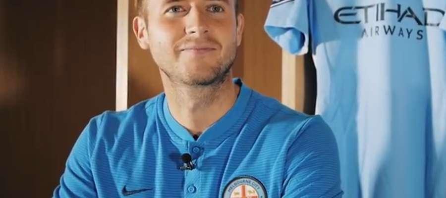Marcin Budziński już w koszulce Melbourne City FC