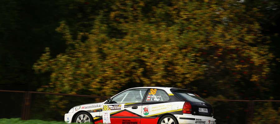Rajd Barbórka zakończył się za szybko dla załogi Marcin Kurp/Sebastian Wach