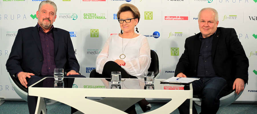 Debata Gazety: Maciej Tobiszewski i Halina Ciunel