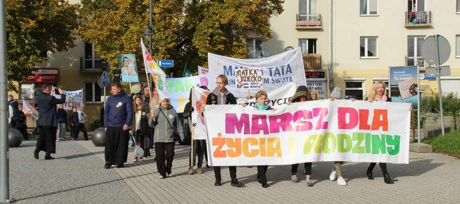 Marsz dla Życia i Rodziny w Giżycku