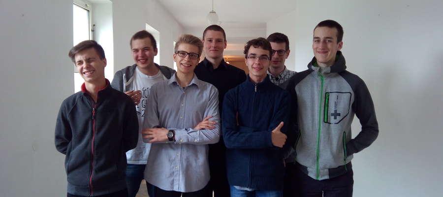 Pierwszy rok seminarium duchownego Hosjanum