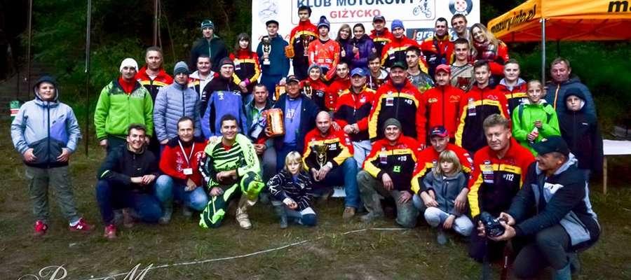 Zawodnicy Moto-Klubu Lidzbark Warmiński mają powody do radości
