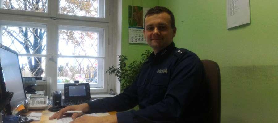 Najpopularniejszym dzielnicowym jest mł. asp. Krzysztof Kaczmarczyk.