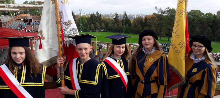 Uczniowie z powiatu nowomiejskiego w Częstochowie