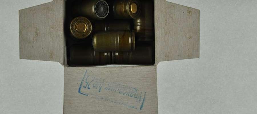 Amunicja, którą Rosjanin chciał przewieźć przez granicę