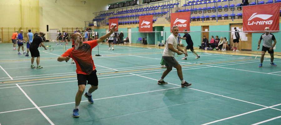 Turniej badmintona w Giżycku