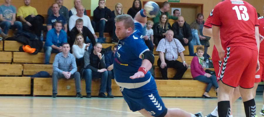 W ataku Maciej Malinowski, najskuteczniejszy zawodnik Jezioraka