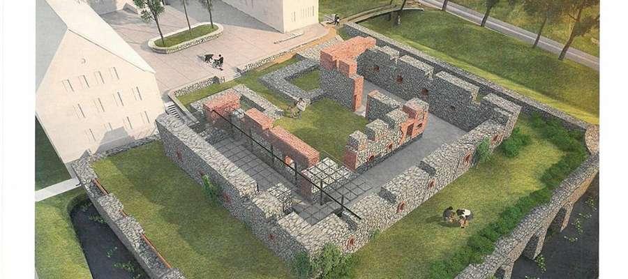 Projekt renowacji ruin zamku w Szczytnie