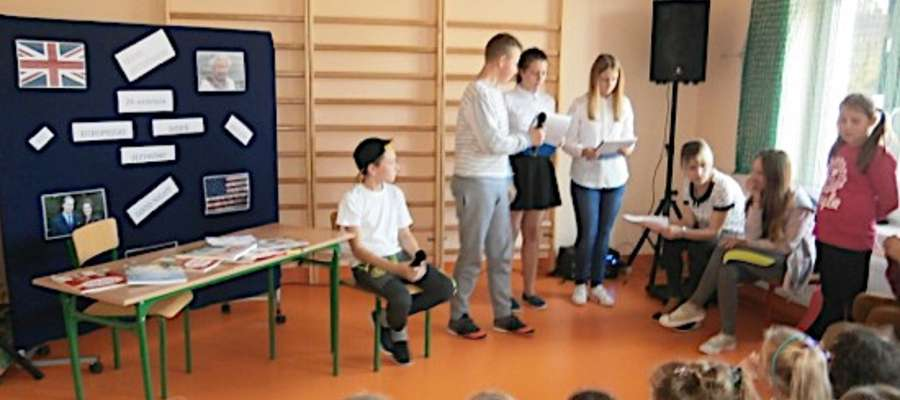 Podczas spotkania z okazji Europejskiego Dnia Języków Obcych w Zwiniarzu