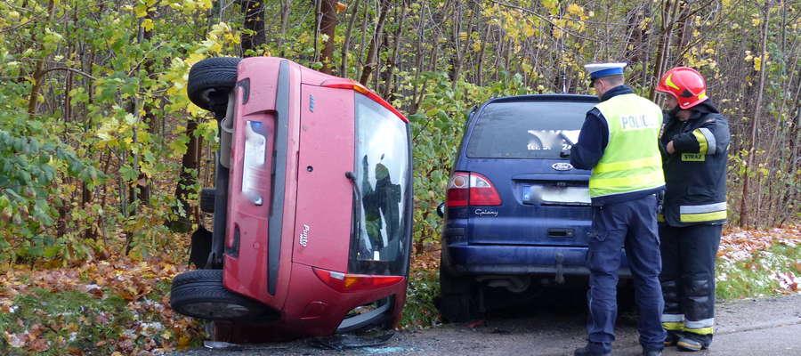 Do wypadku doszło przy ul. Gdańskiej w Piszu