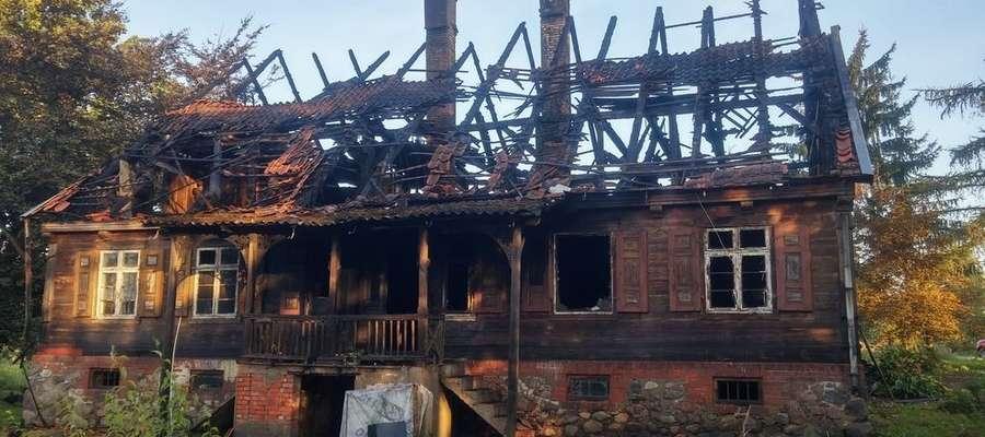 Pożar strawił dom i cały dobytek rodziny Urbankiewiczów