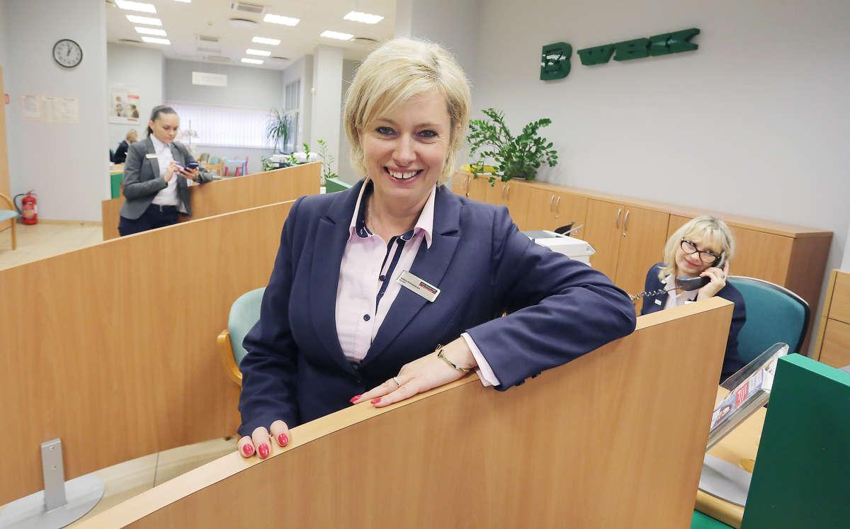 Izabela Kołodziejczyk, dyrektor oddziału Banku Zachodniego WBK w Olsztynie