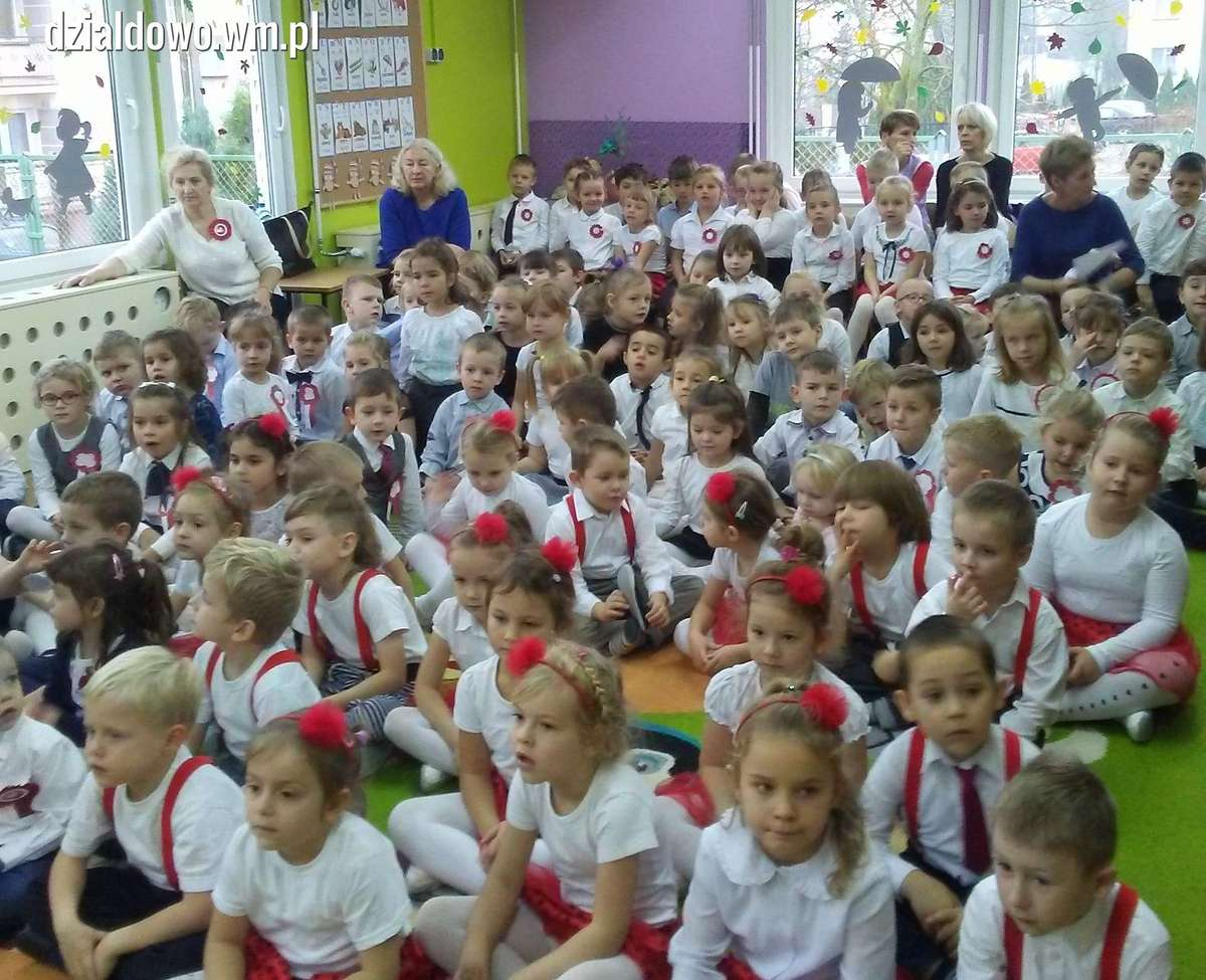 11 Listopada W Pamięci Przedszkolaków Uroczystość święta