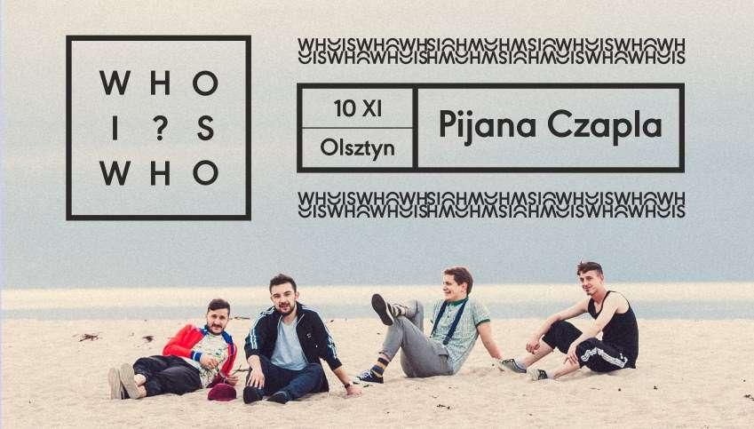 Whoiswho po raz kolejny w Olsztynie. Zagrają z Brylantami i Bażantami! - full image