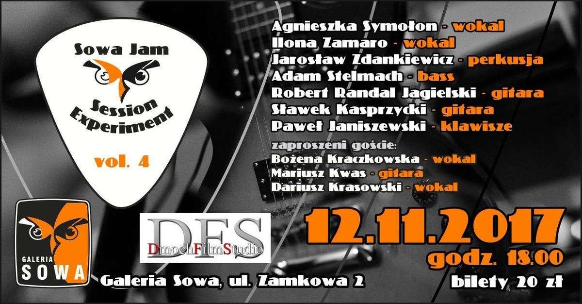 Kolejne jam session w Sowie. Na scenie m.in. Bartas Szymoniak - full image