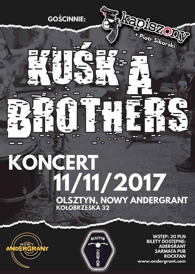 Kuśka Brothers i Kapiszony w Andergrancie - full image