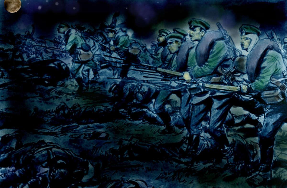 Nocna bitwa na bagnety - full image