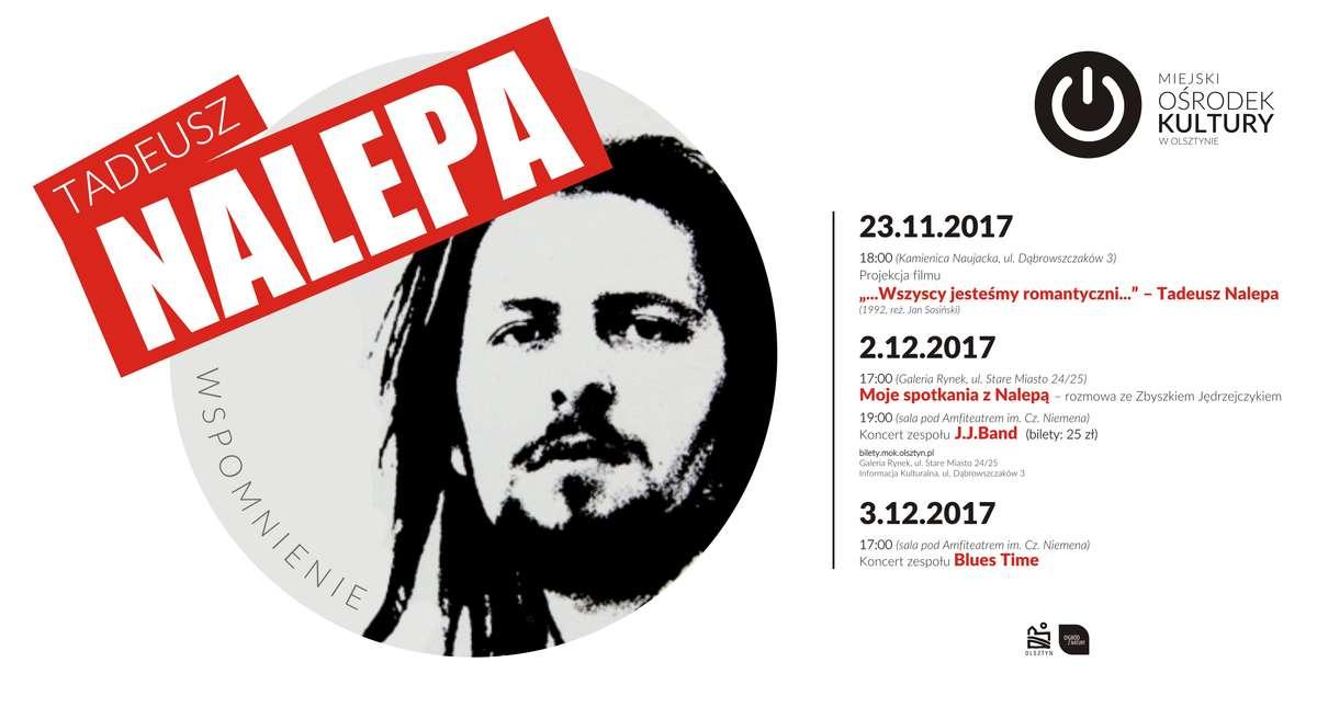 Wspomnienie o Tadeuszu Nalepie w Miejskim Ośrodku Kultury w Olsztynie - full image