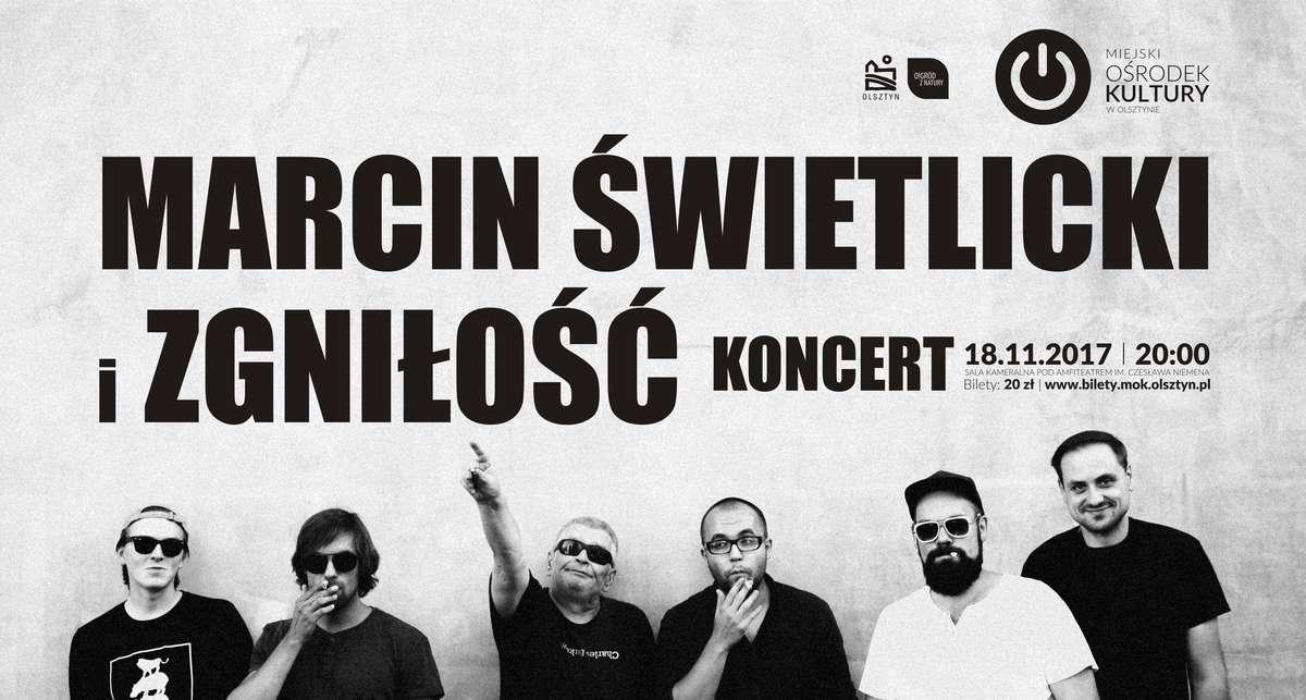 Koncert: Marcin Świetlicki i Zgnisłość - full image