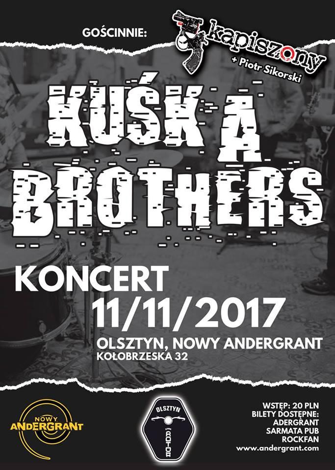 Kuśka Brothers i Kapiszony w Andergrancie