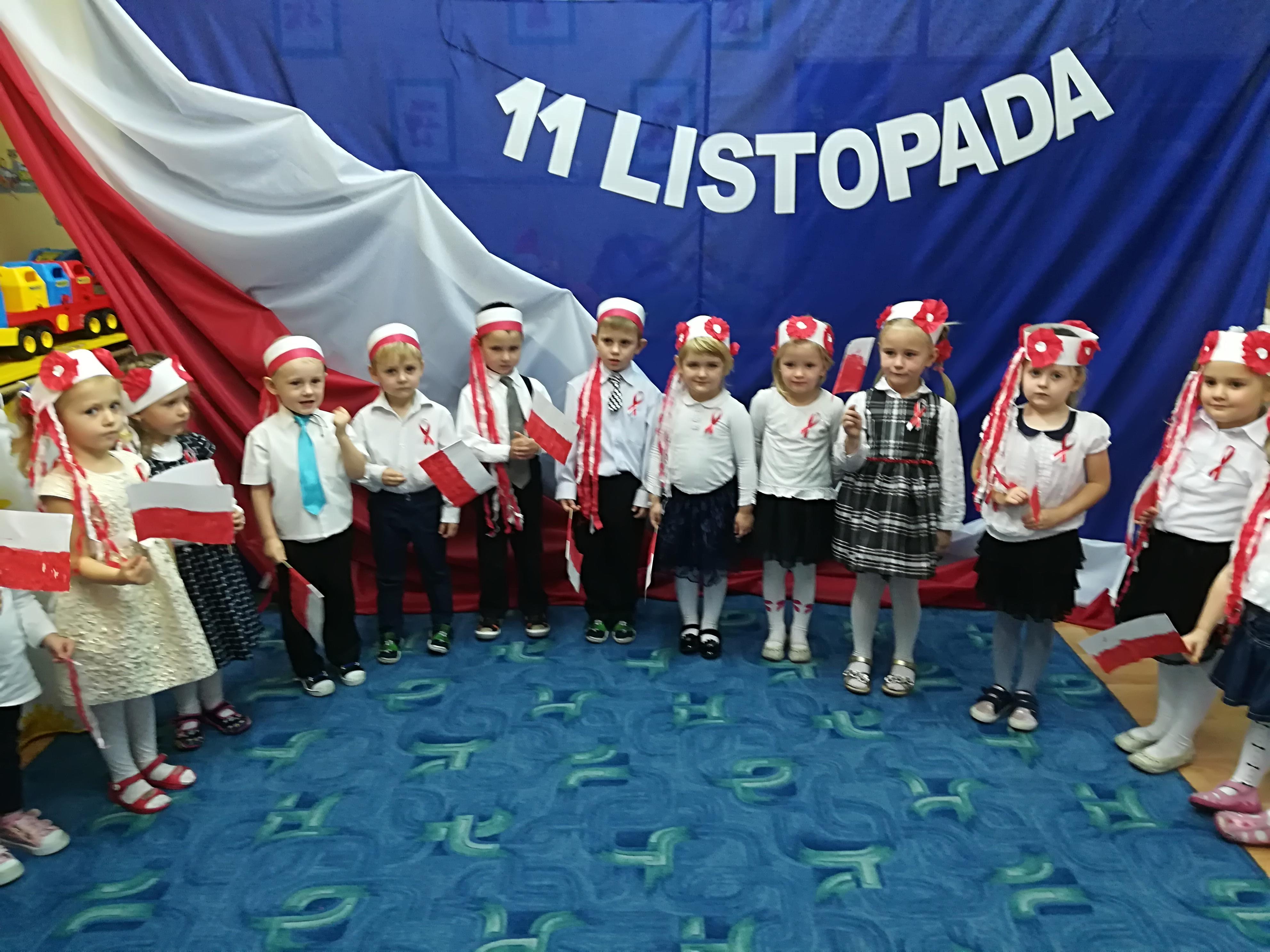 święto Niepodległości W Przedszkolu W Bisztynku Bisztynek