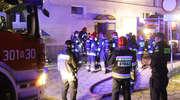 """Kolejny pożar w """"samotniaku"""" w Olsztynie. Na szczęście nikomu nic się nie stało"""