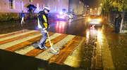 Kobieta potrącona na przejściu dla pieszych przy ul. Paderewskiego w Olsztynie